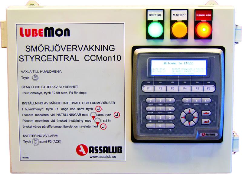 CCMon10 schmierstellenüberwachung lubemon schmiertechnik schmierstoffe assalub lubrimatik