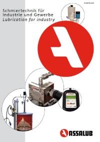 hauptkatalog deutsch schmiertechnik schmierstoffe assalub lubrimatik