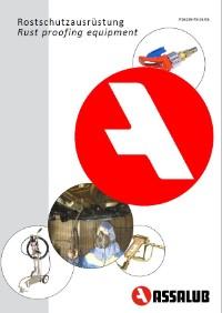 katalog rostschutz ausrüstung deutsch schmiertechnik schmierstoffe assalub lubrimatik
